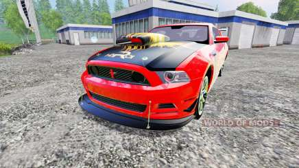 Ford Mustang Boss 302 для Farming Simulator 2015