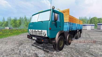КамАЗ-6530 v2.6 для Farming Simulator 2015