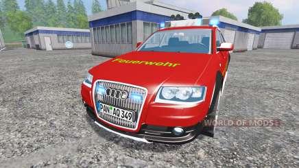 Audi A6 (C6) Avant [feuerwehr] для Farming Simulator 2015