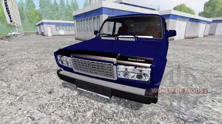 ВАЗ-2107 v2.0 для Farming Simulator 2015