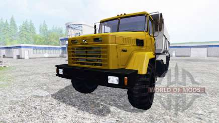 КрАЗ-7140С6 для Farming Simulator 2015