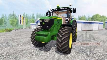 John Deere 6190R для Farming Simulator 2015