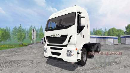 Iveco Stralis Hi-Way 8x8 для Farming Simulator 2015