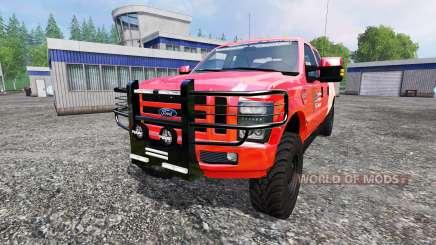 Ford F-350 American Fire Chief для Farming Simulator 2015