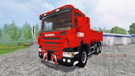 Scania P420 [dumper] для Farming Simulator 2015