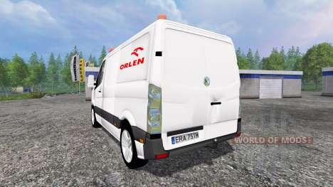 Volkswagen Crafter Orlen для Farming Simulator 2015