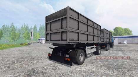 МАЗ-630308 [прицеп] для Farming Simulator 2015