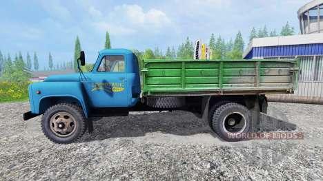 ГАЗ-53 [зернотранс] для Farming Simulator 2015