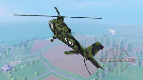 Agusta A.109 [camo] для Farming Simulator 2015