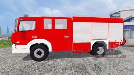 Mercedes-Benz Atego 1530 [firefighters] для Farming Simulator 2015