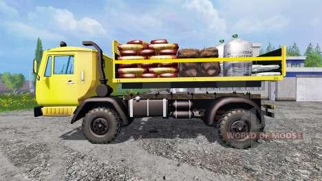 КАЗ-4540 v1.2 для Farming Simulator 2015