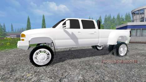 GMC Sierra 3500HD 2006 для Farming Simulator 2015