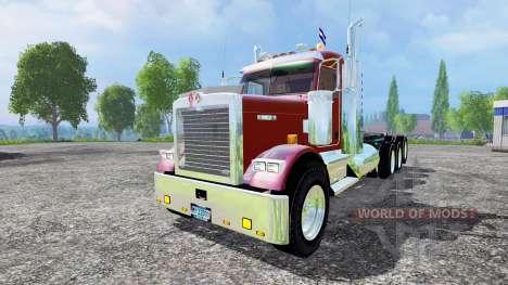 Kenworth W900B v1.1 для Farming Simulator 2015
