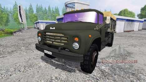 ЗиЛ-130 v1.3 для Farming Simulator 2015