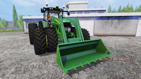 John Deere 6930 FL v2.2 для Farming Simulator 2015