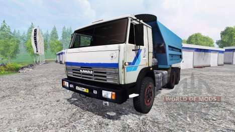 КамАЗ-55111 v2.0 для Farming Simulator 2015