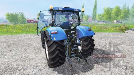 New Holland T6.160 [blue power] v1.1 для Farming Simulator 2015