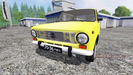 ВАЗ-2101 v2.0 для Farming Simulator 2015