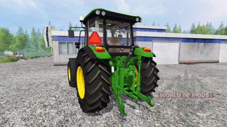 John Deere 5075M для Farming Simulator 2015