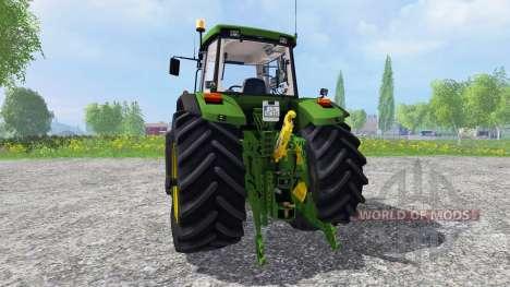 John Deere 7710 для Farming Simulator 2015