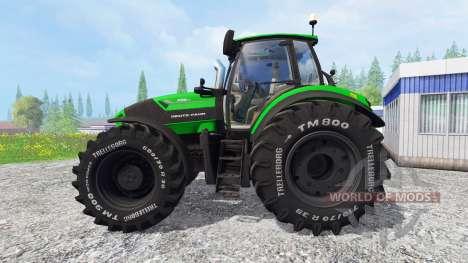 Deutz-Fahr Agrotron 7250 TTV [krone] для Farming Simulator 2015