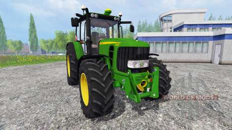 John Deere 6830 Premium [washable] для Farming Simulator 2015