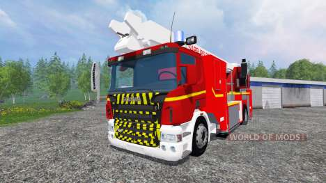 Scania P420 BEA [sapeurs-pompiers] для Farming Simulator 2015