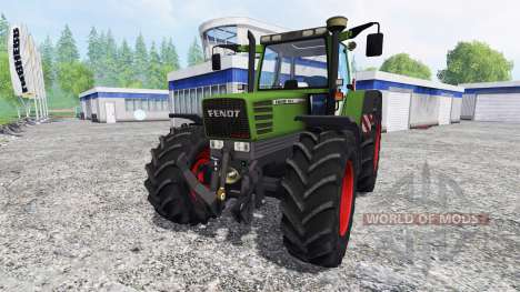 Fendt Favorit 515C [washable] v3.0 для Farming Simulator 2015