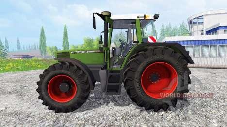 Fendt Favorit 512 v2.0 для Farming Simulator 2015