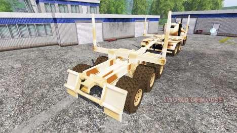Hayes HDX [desert camo] для Farming Simulator 2015