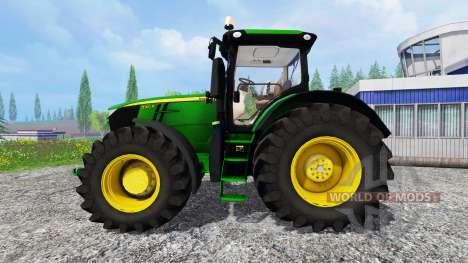 John Deere 7310R [wheel shader] v2.0 для Farming Simulator 2015