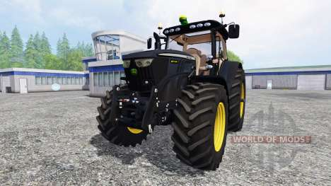 John Deere 6210R [black edition] для Farming Simulator 2015