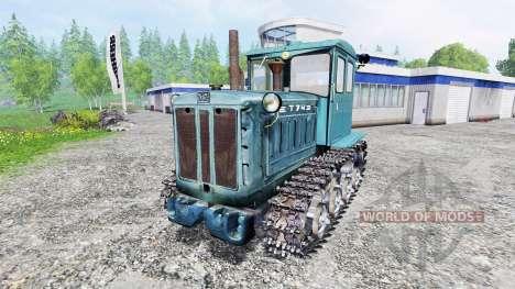 Т-74 v1.1 для Farming Simulator 2015