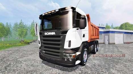Scania R440 [tipper] для Farming Simulator 2015