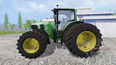 John Deere 6930 FL v1.1 для Farming Simulator 2015