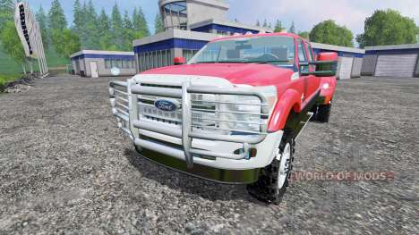 Ford F-450 для Farming Simulator 2015