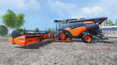 New Holland CR10.90 [grey-orange] для Farming Simulator 2015