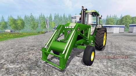 John Deere 4455 v2.2 для Farming Simulator 2015