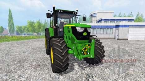 John Deere 6115M для Farming Simulator 2015