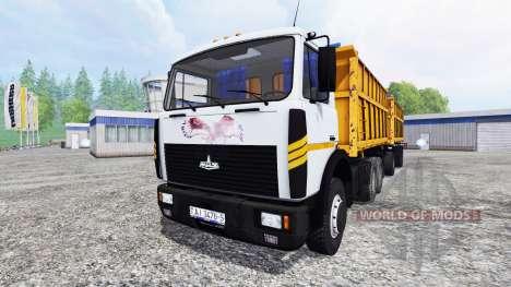 МАЗ-5516 для Farming Simulator 2015