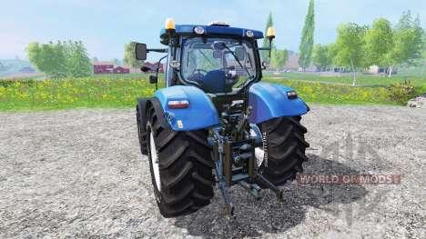New Holland T6.175 v1.2 для Farming Simulator 2015