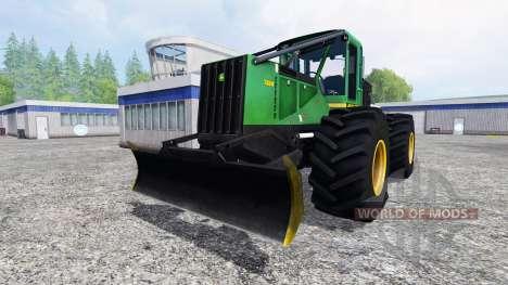 John Deere 748H v1.1 для Farming Simulator 2015