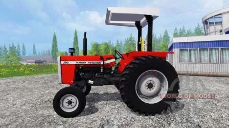 Massey Ferguson 290 для Farming Simulator 2015