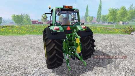 John Deere 6930 v3.3 для Farming Simulator 2015