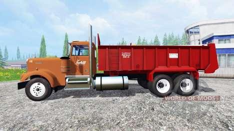 Kenworth W900 для Farming Simulator 2015