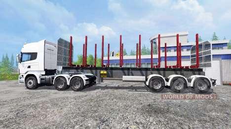 Scania R730 для Farming Simulator 2015