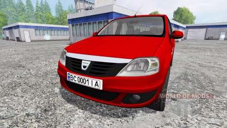 Dacia Logan v1.2 для Farming Simulator 2015