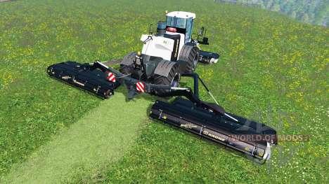 Krone Big M 500 [black] v1.5 для Farming Simulator 2015