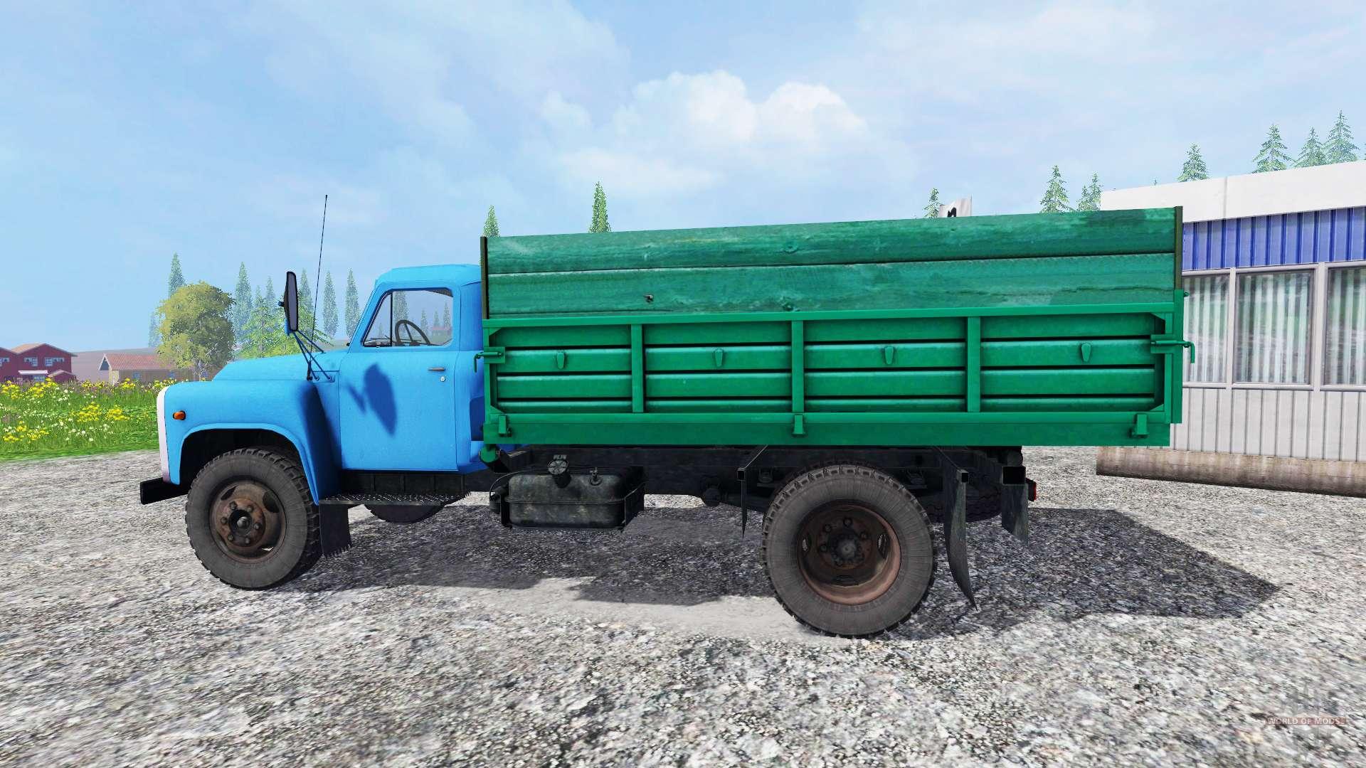 Farming simulator 2013 скачать мод русский грузовик газ-53 пак.