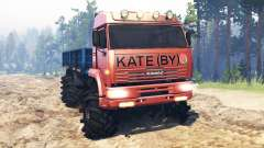 КамАЗ-65221 для Spin Tires